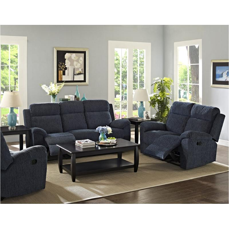 20-292-30-drg New Classic Furniture Rachel Dual Recliner Sofa - Regatta