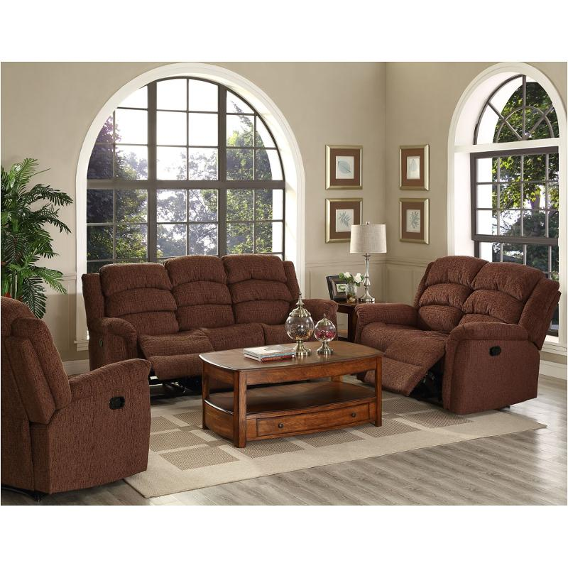 20-290-30-dfd New Classic Furniture Ross Dual Recliner Sofa - Fudge