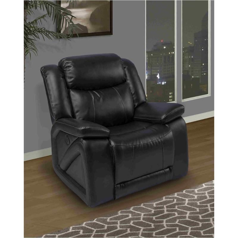 newest collection c7bf1 d6d72 20-324-13-mbk New Classic Furniture Soho Glider Recliner - Mesa Black