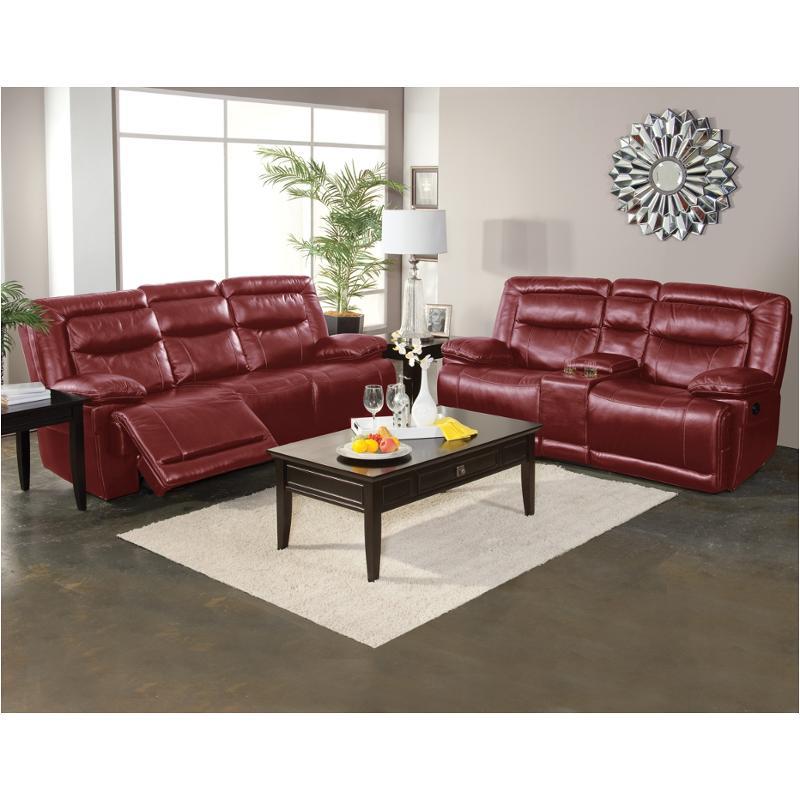20-246-30-prd New Classic Furniture Torino Dual Recliner Sofa - Red