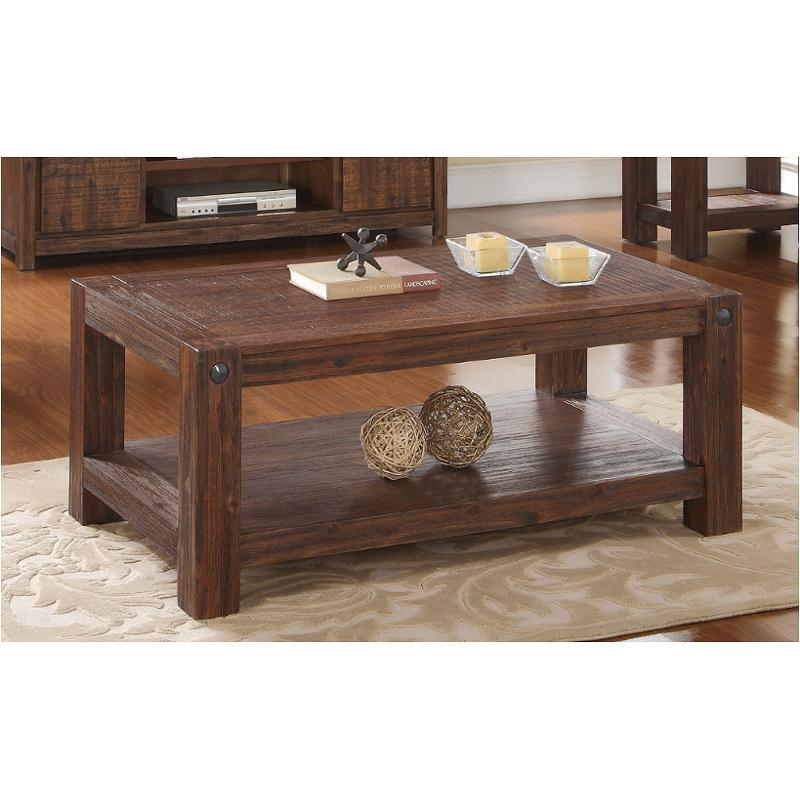 T1002 10 New Classic Furniture Cocktail Table Distressed