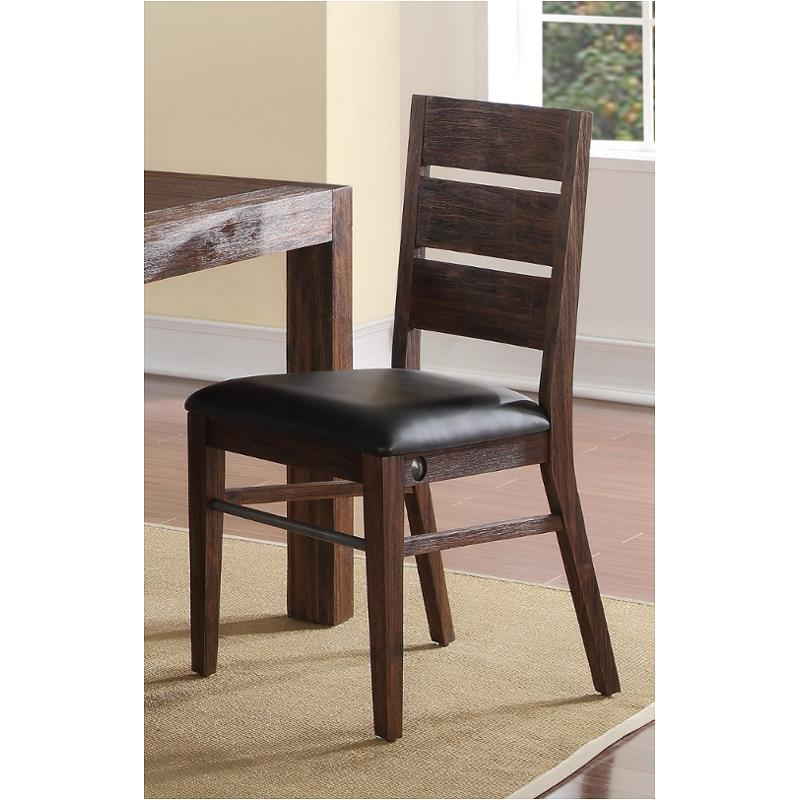 D1002 20 New Classic Furniture Dining Chair Distressed