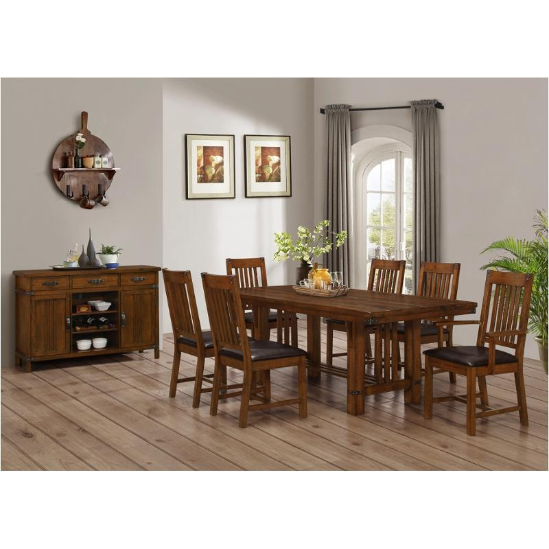 D2514 10 New Classic Furniture Buchanan Dining Room Dining Table