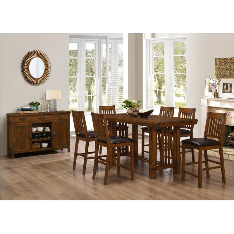 D2514 12 New Classic Furniture Buchanan Dining Room Counter Height Table