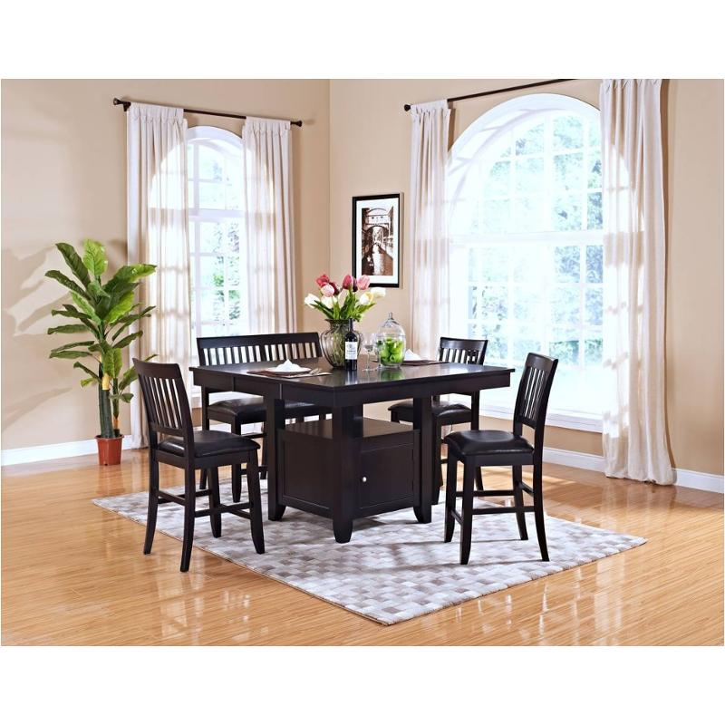 45-102-10 New Classic Furniture Kaylee Counter Table - Espresso