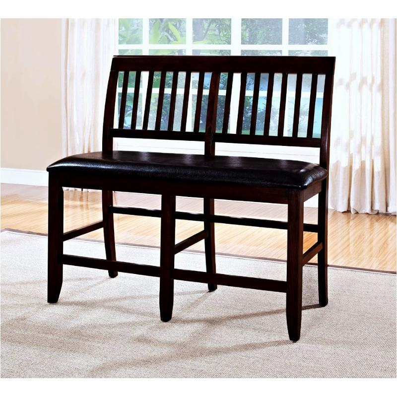Stupendous 45 102 25 New Classic Furniture Kaylee Counter Bench Espresso Ibusinesslaw Wood Chair Design Ideas Ibusinesslaworg