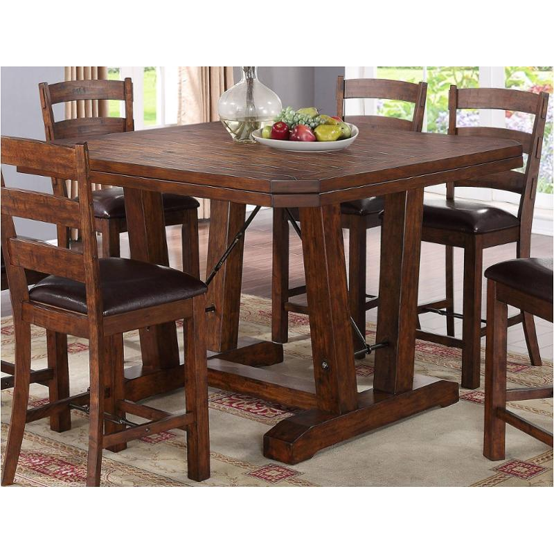 D0376 12 New Classic Furniture Lanesboro Dining Room Counter Height Table