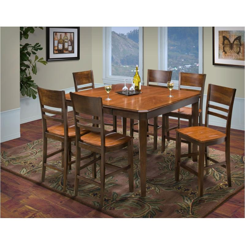 45 150 11 T New Clic Furniture Laudes Dining Room Counter Height Table
