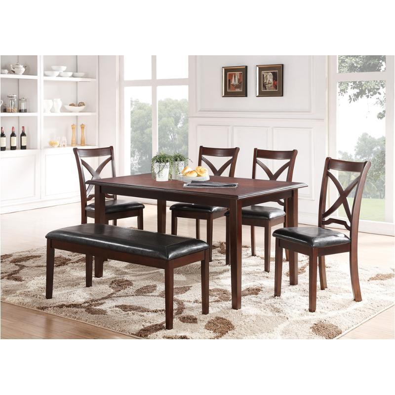 D1435 60s New Classic Furniture Milo Dining Room Dinette Table