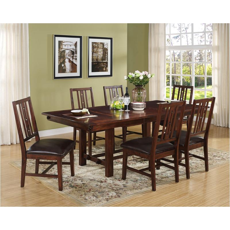 40 455 10 New Clic Furniture Madera Square Dining Table