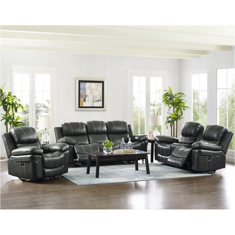 22 208 32p Gry New Classic Furniture Cadence Living Room Recliner