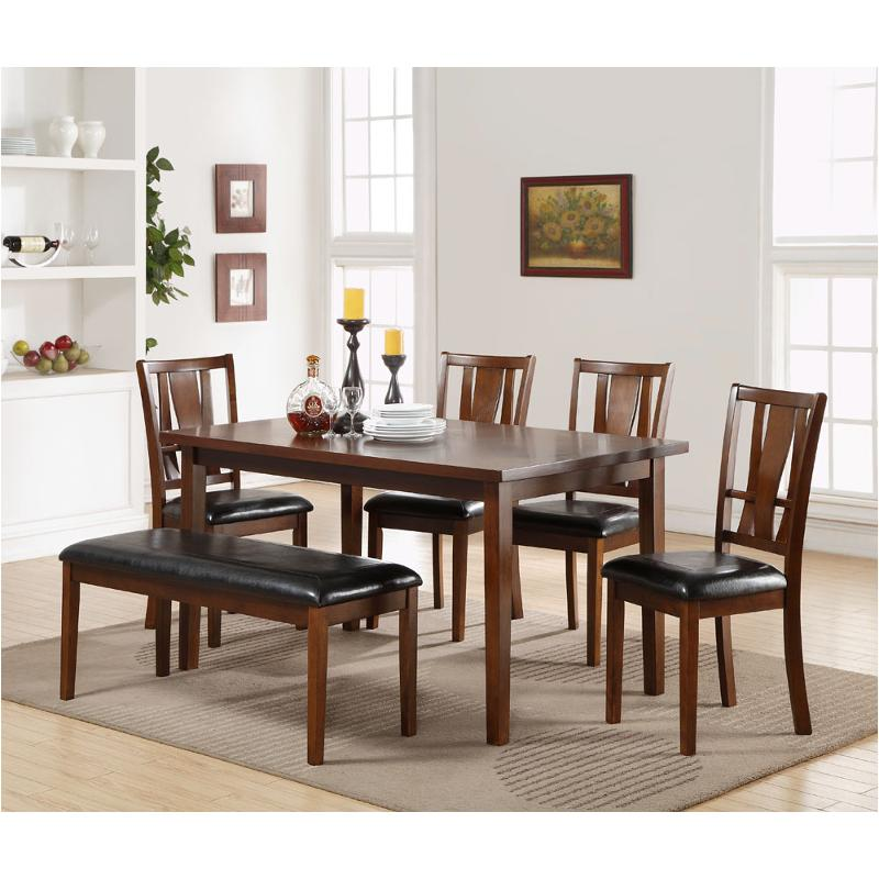 D1426-60s New Clic Furniture Dixon Standard Dining 6 Pc Set on 60's furniture, 60's dining room sets, living room table sets, 60's chairs, 60's bedroom sets,