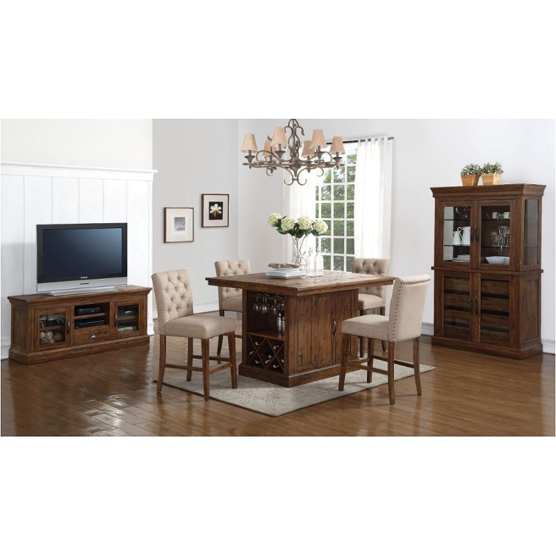 D1232 18t New Classic Furniture Normandy Dining Room Island