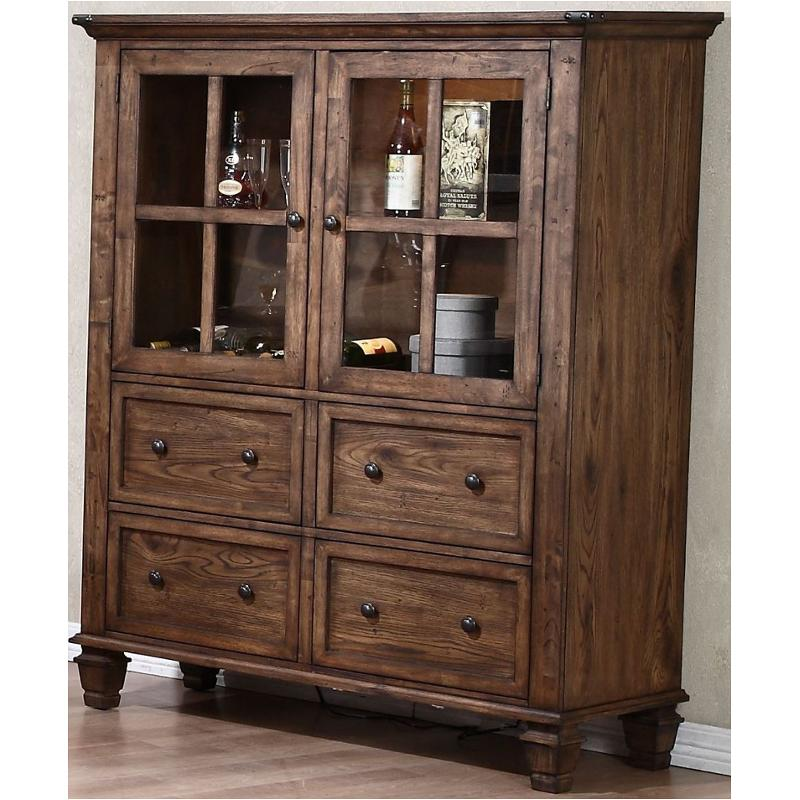 D1505-46 New Classic Furniture Sutton Manor China Cabinet