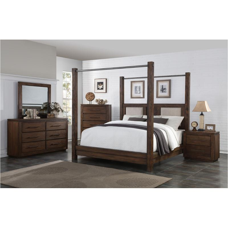 B011 112 New Classic Furniture King California King Poster Bed