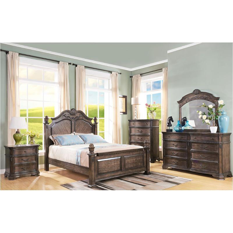 00 414 310 New Classic Furniture Larissa Bedroom Bed