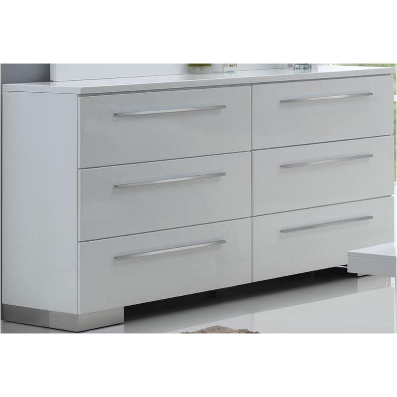B2643 050 New Classic Furniture Sapphire White Bedroom Dresser