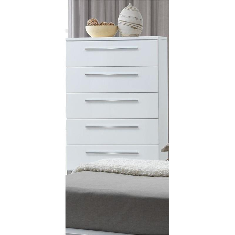B2643-070 New Classic Furniture Sapphire White Chest