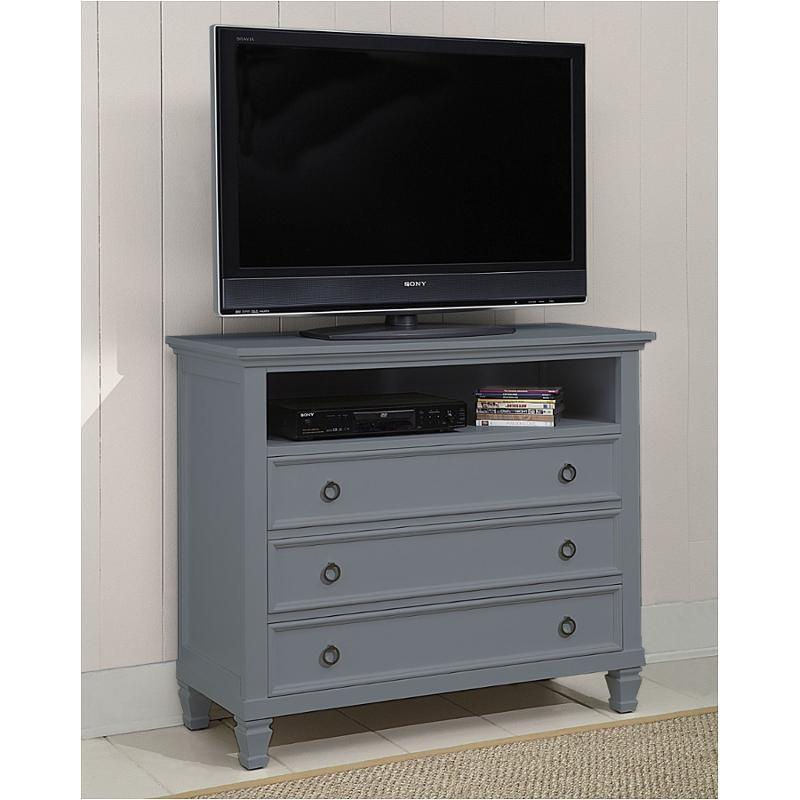 00 042 078 New Classic Furniture Tamarack Gray Media Chest