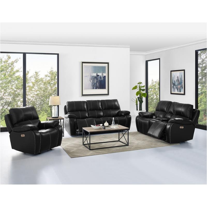 Fantastic L2387 25Ph Blk New Classic Furniture Lyra Power Console Loveseat With Power Headrest Bralicious Painted Fabric Chair Ideas Braliciousco