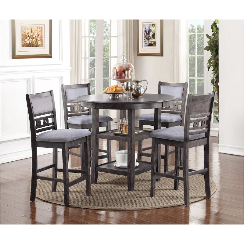 9e2e7279e76d4 D1701-52s-gry New Classic Furniture Gia Dining Room Counter Height Table
