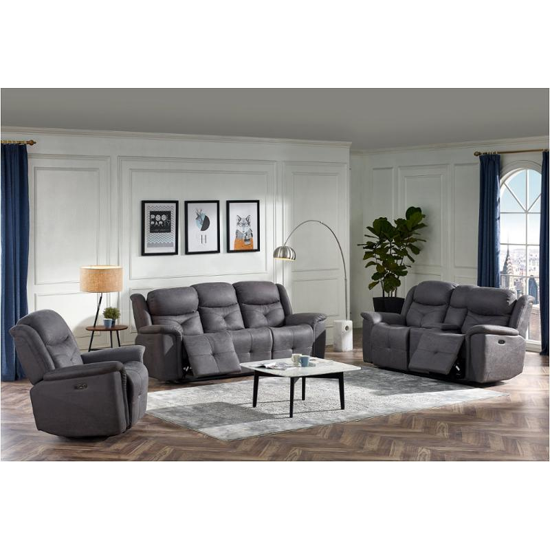 U1599-30-agr New Classic Furniture Baracoa - Grey Sofa