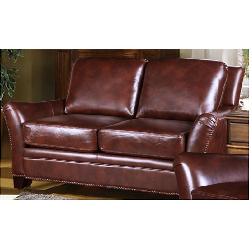 1201-021805 Leather Italia Dolcezza Living Room Belfort Loveseat