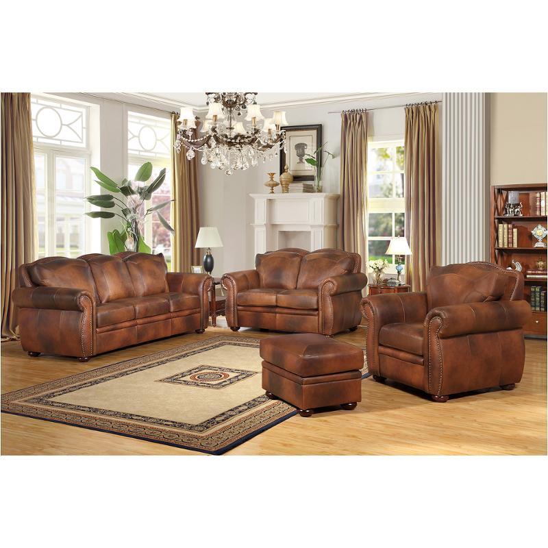 6110-0304234 Leather Italia Cambria Living Room Arizona Sofa