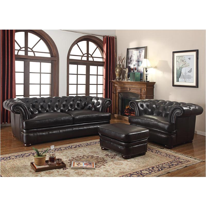 4112-031771 Leather Italia Cambria Living Room Arlington Sofa