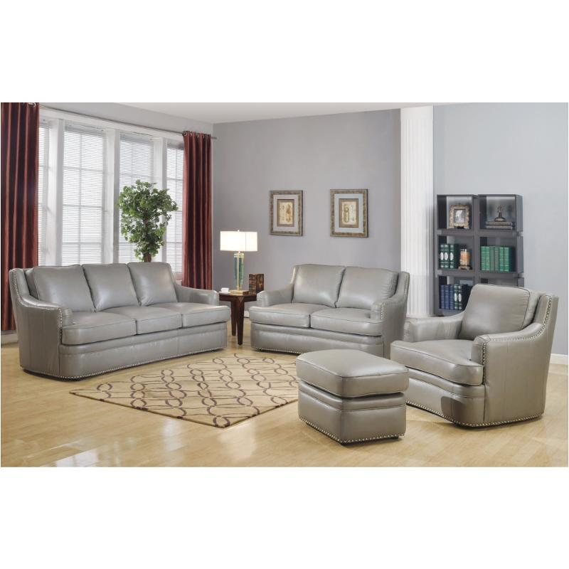 9013-031812 Leather Italia Cambria Living Room Tulsa Sofa