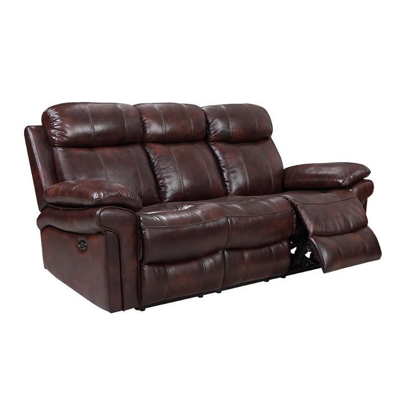 E2117-031081lv Leather Italia Shae Joplin Power Recliner Sofa
