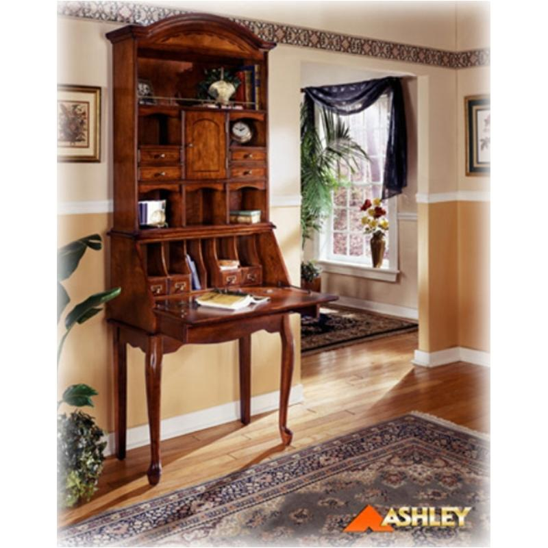 Ashley Furniture Corporate Headquarters: H217-19h Ashley Furniture Home Office Hutch Cherry Stain