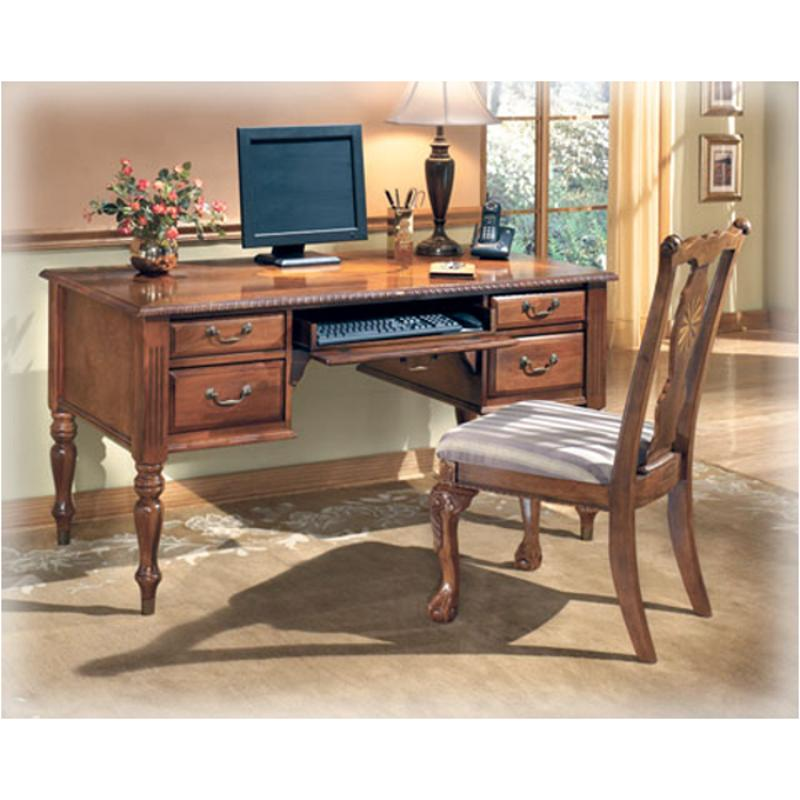 H217-27 Ashley Furniture Home Office Leg Desk