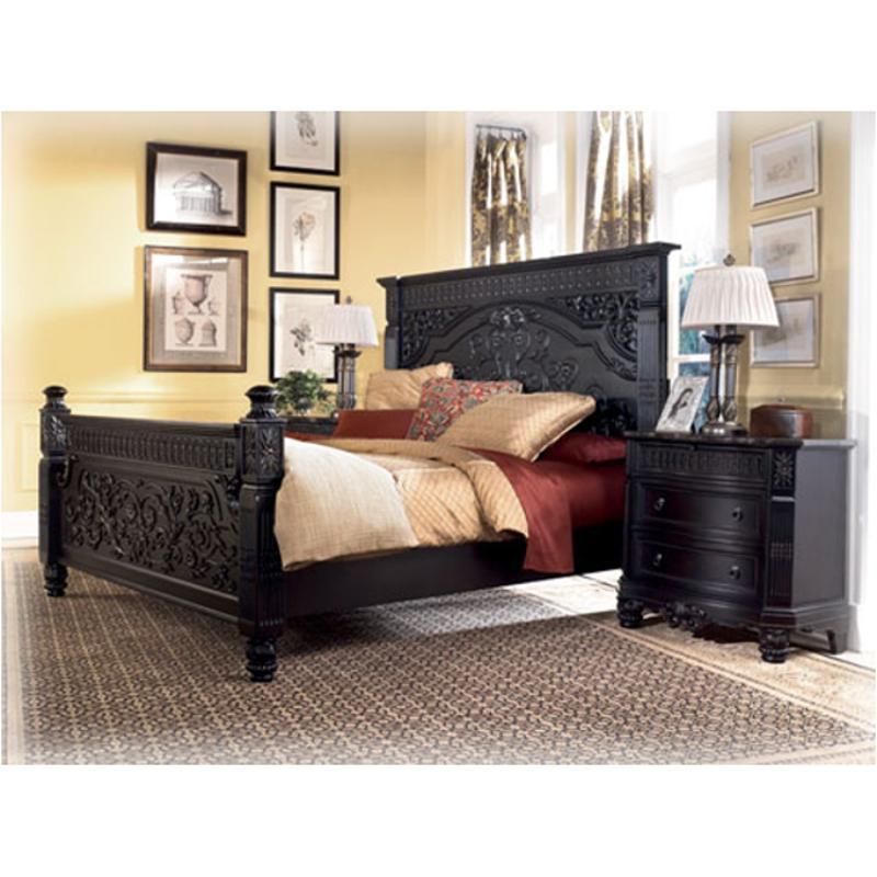 B651 58 Ashley Furniture Britannia Rose King Panel Headboard