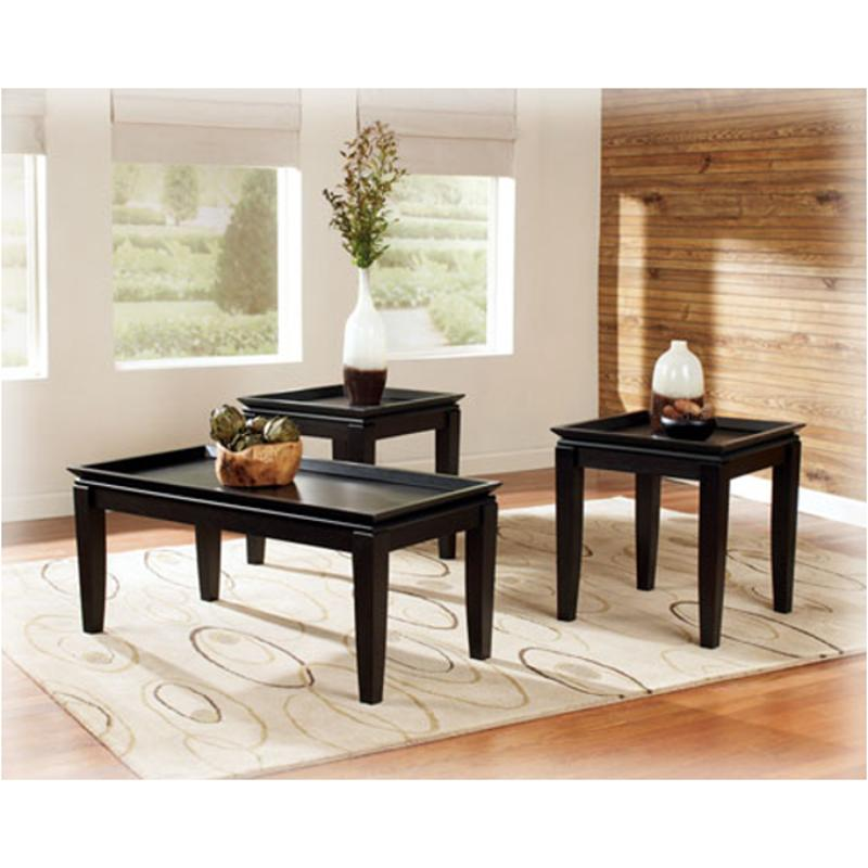 T049 13 Ashley Furniture Banilee Living Room Occasional: T131-13 Ashley Furniture Occasional Table Set