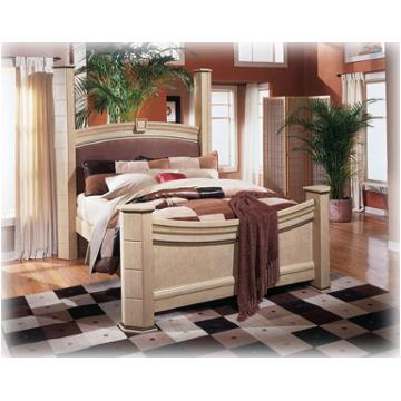 b310 98 ashley furniture ashton castle bedroom queen poster rails
