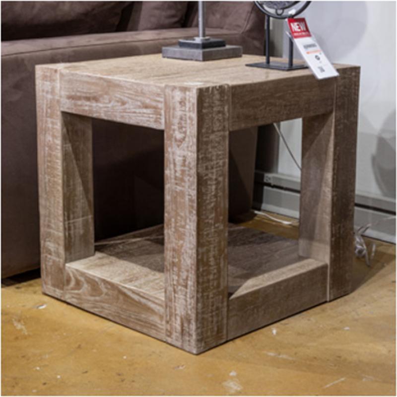 Ashley Furniture Circular: T993-2 Ashley Furniture Sq End Chry Stain Fnsh/slate