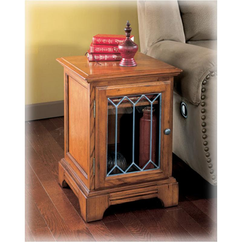 T404 2 Ashley Furniture Drake Estates Living Room End Table