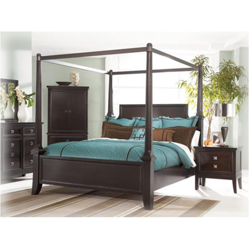 B551-72 Ashley Furniture Martini Suite Bedroom Bed  sc 1 st  Home Living Furniture & B551-72 Ashley Furniture Eastern King Poster Bed With Canopy