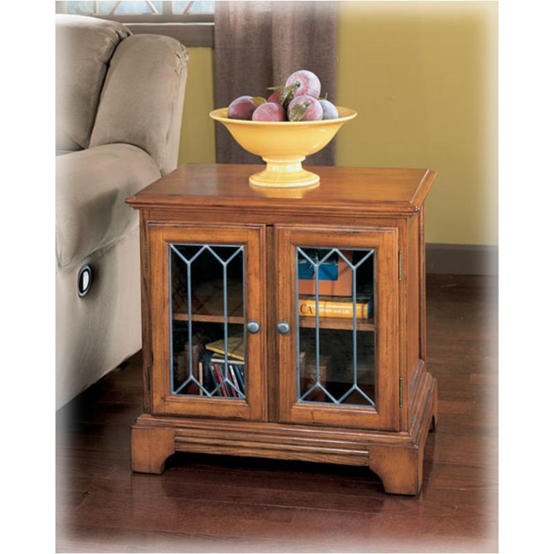 T404 3 Ashley Furniture Drake Estates Living Room End Table
