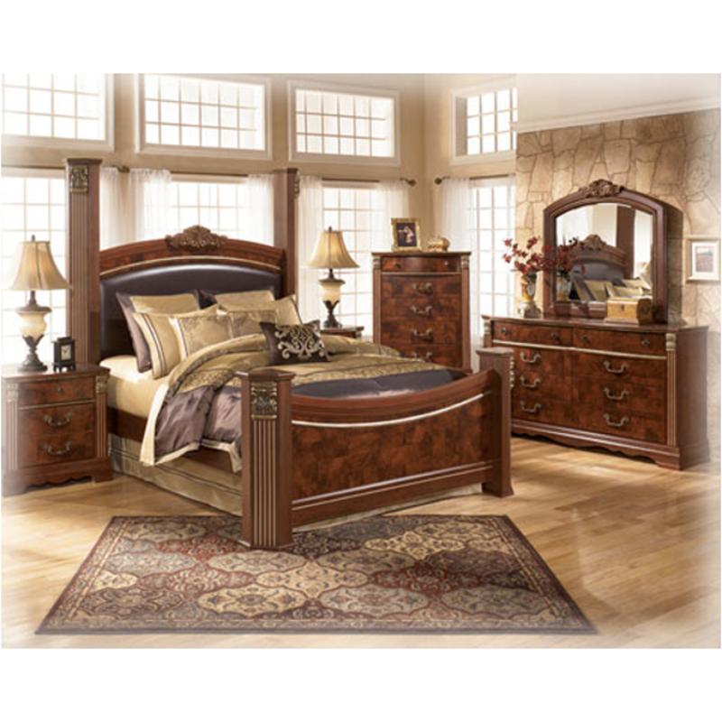 B406 31 Ashley Furniture Gilded Court Bedroom Dresser