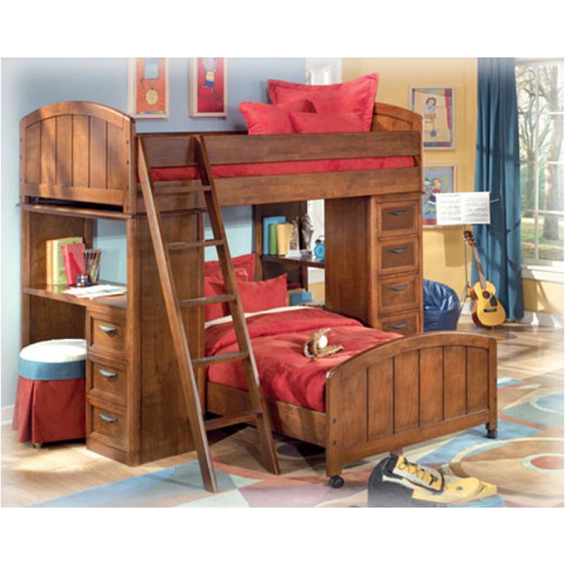 B411 20 Ashley Furniture Mckensey Bedroom Bookcase Loft Desk