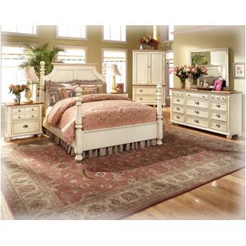 B423 92 Ashley Furniture Alison Hall Bedroom Nightstand