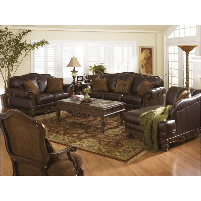 2260338 Ashley Furniture North Shore Dark Brown Sofa