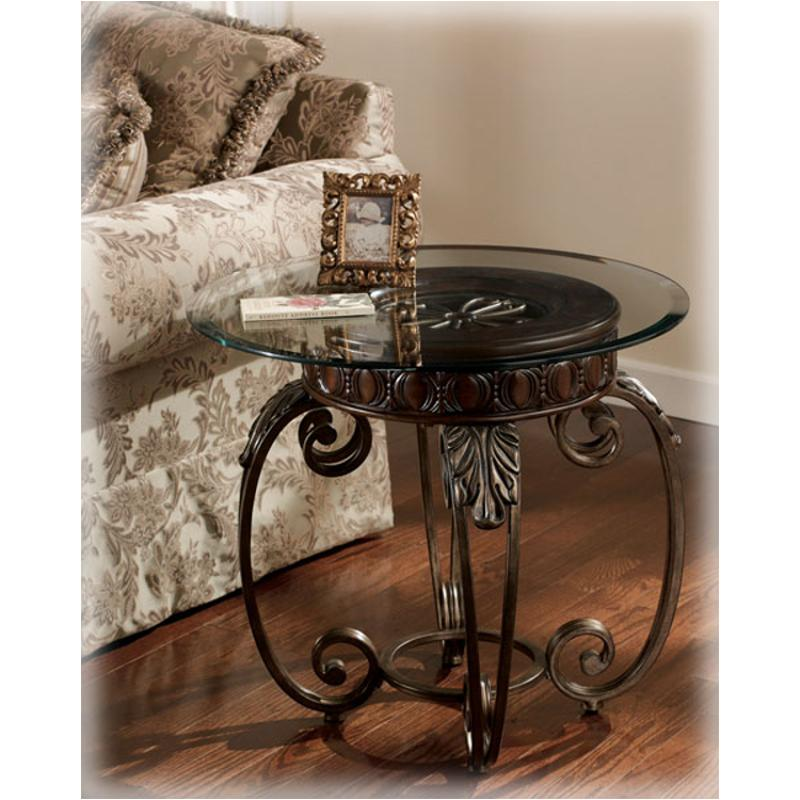 Furniture Com Coupon: T399-6 Ashley Furniture Tullio Living Room Round End Table