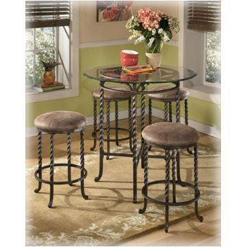 D382 223 Ashley Furniture Pub Table Base 4 24 Inch Bar Stools