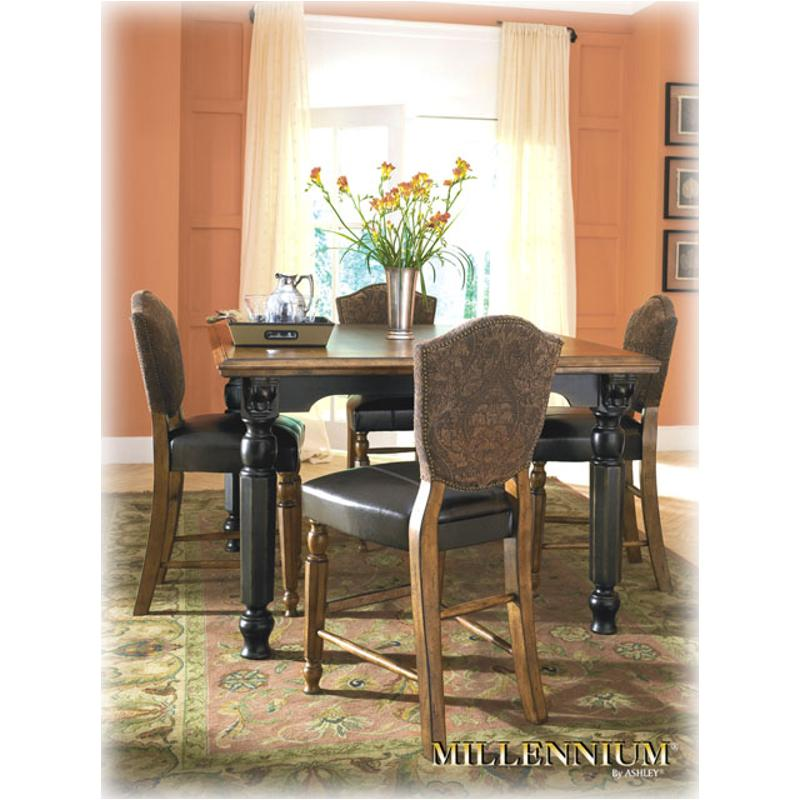 square dinette table d534 32 ashley furniture rowley creek square counter height table