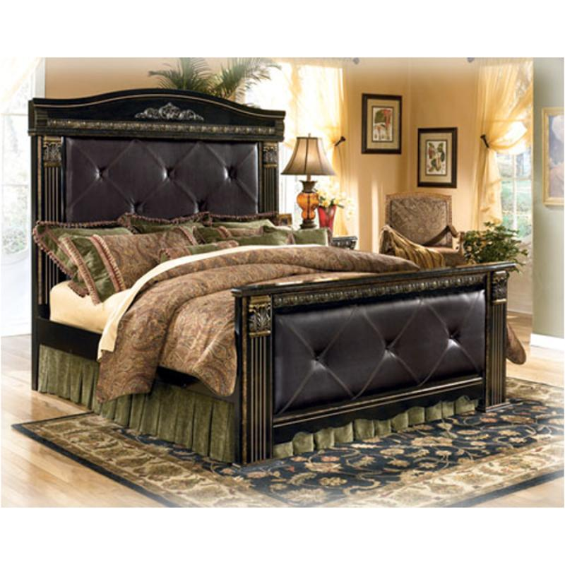 coal creek bedroom set b175 61 furniture headboard legs crown assy 14837