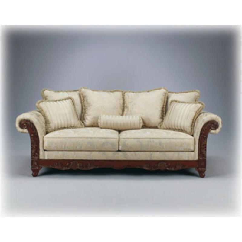 1810038 Ashley Furniture Brilliance   Alabaster Living Room Sofa
