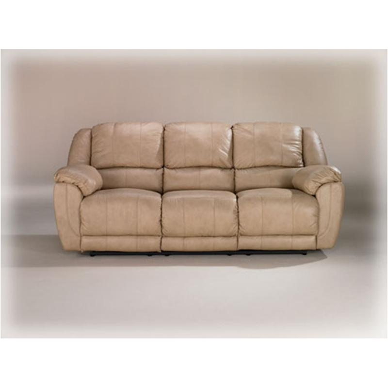4491188 Ashley Furniture Dover Natural Reclining Sofa